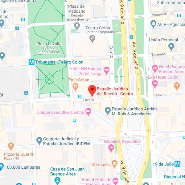 Estudio Jurídico Del Rincón - Oficina Centro